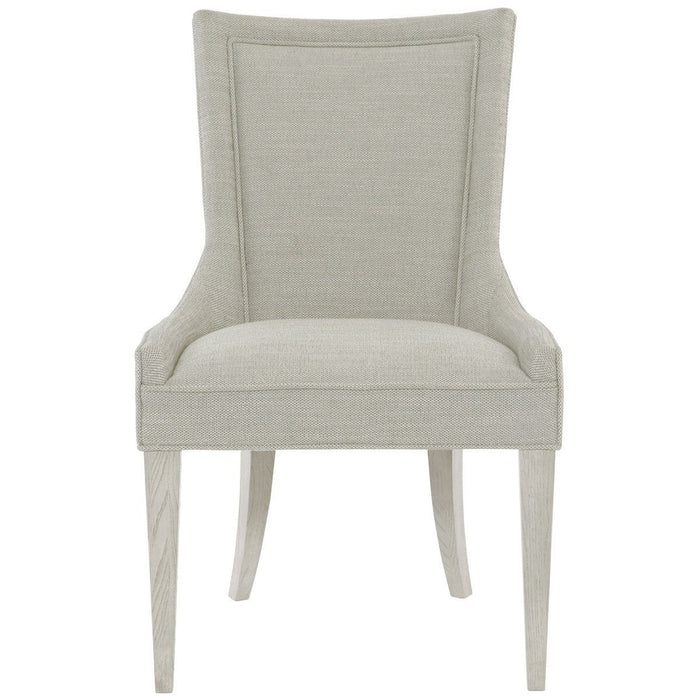 Bernhardt Criteria Arm Chair with Upholstered Seat Set of 2