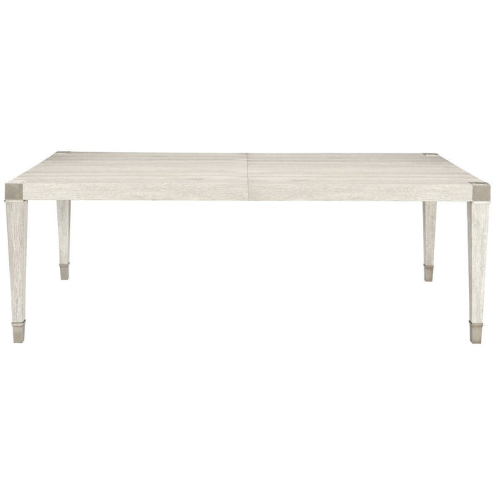 Bernhardt Domaine Blanc Dove White Dining Leg Table