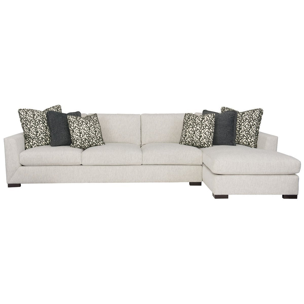 Surprising Bernhardt Interiors Nicolette Sectional Interior Design Ideas Clesiryabchikinfo