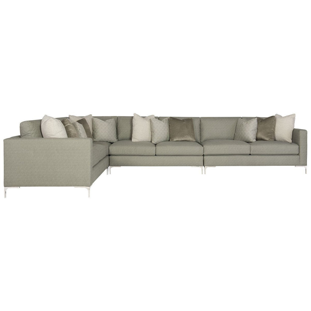 Magnificent Bernhardt Interiors Eden Sectional Sofa Interior Design Ideas Clesiryabchikinfo