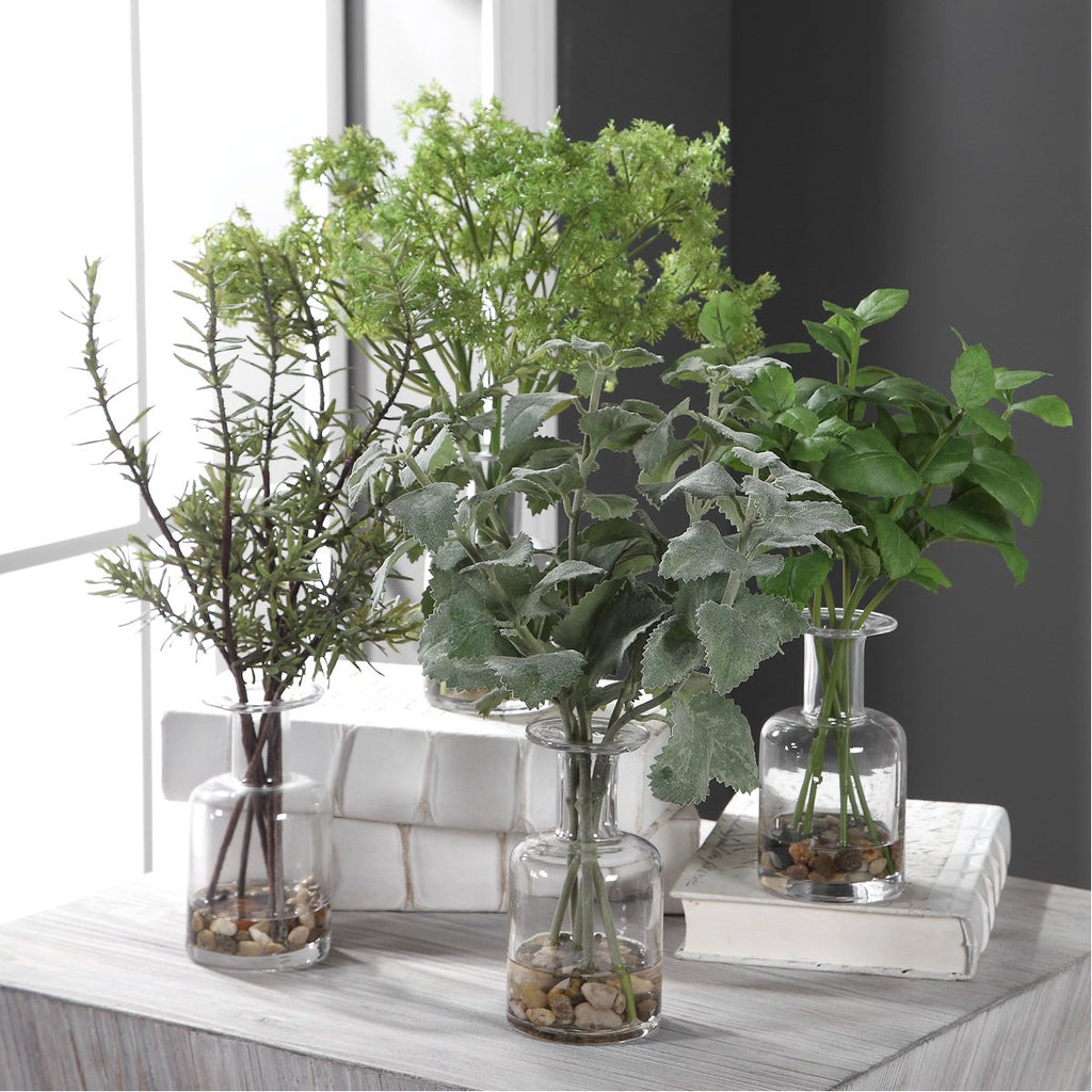 Uttermost Ceci Kitchen Herbs - Set of 4