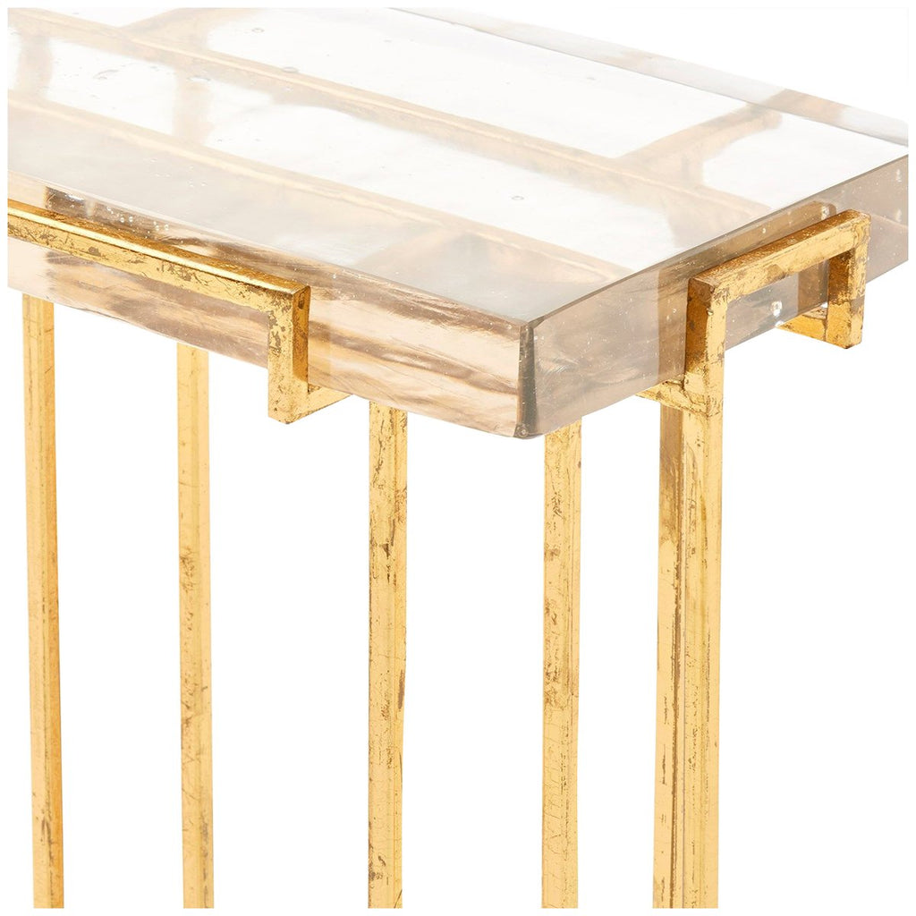 Bungalow 5 Prism Side Table - Gold
