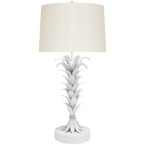 Worlds Away Palm Leaf Table Lamp