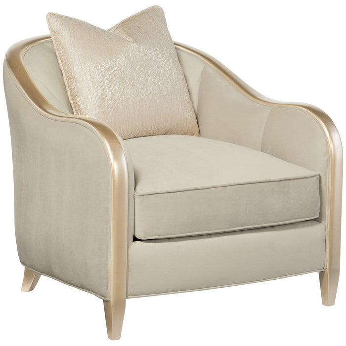 Caracole Adela Blush Taupe Birch Chair