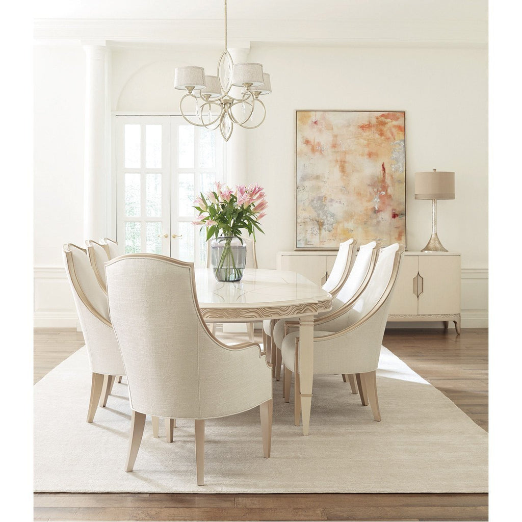 Caracole Adela Oval Dining Table