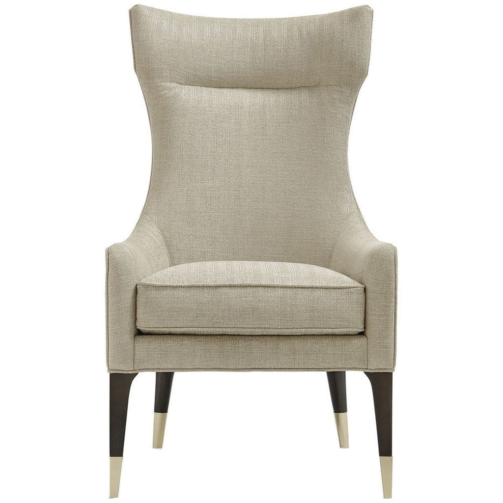 Caracole Upholstery Perfect Pairing Chair