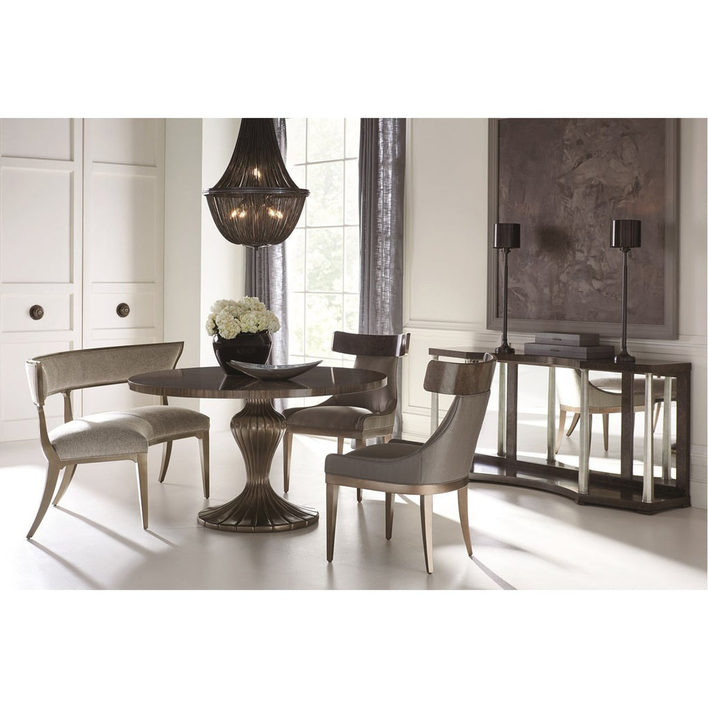Caracole Classic Round Table Discussion Dining Table