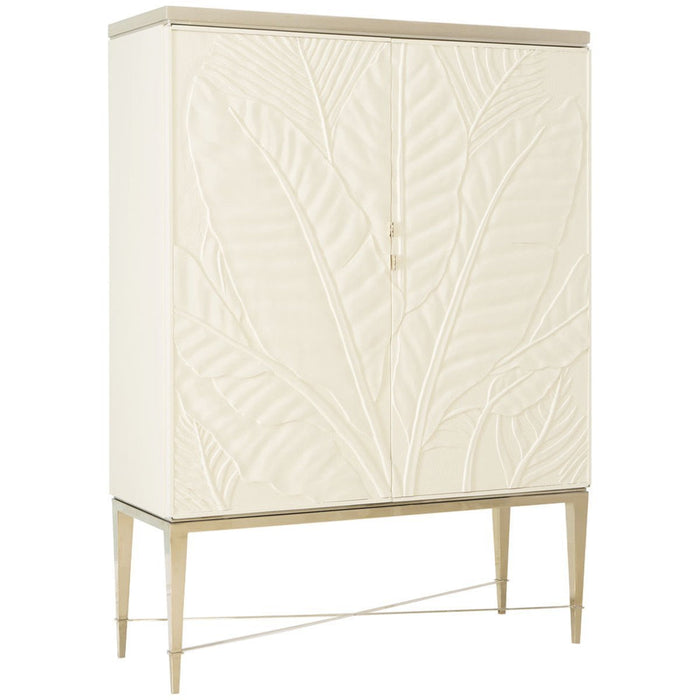 Caracole Classic Palms Up Cabinet