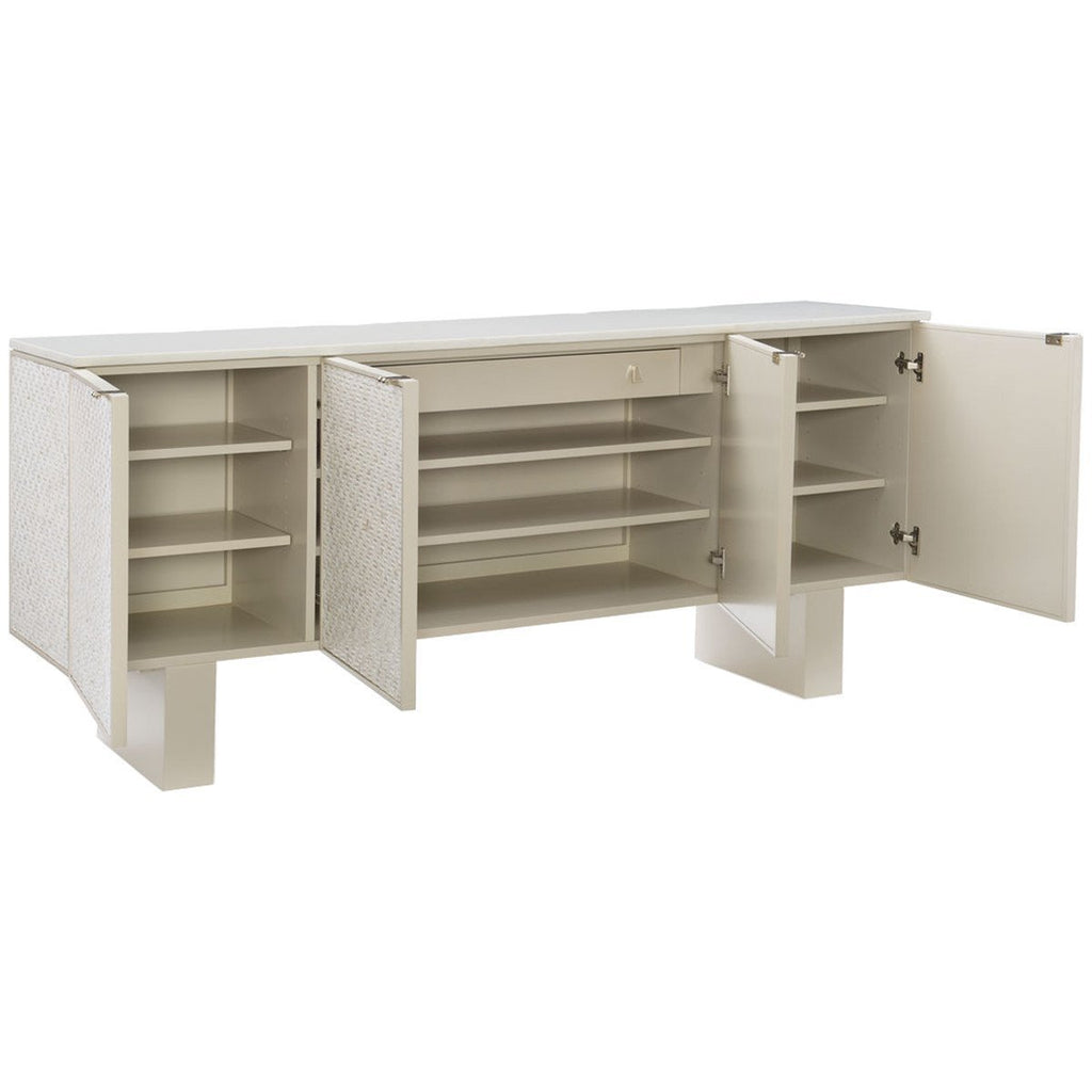 Caracole Classic Bomb-Shell Sideboard