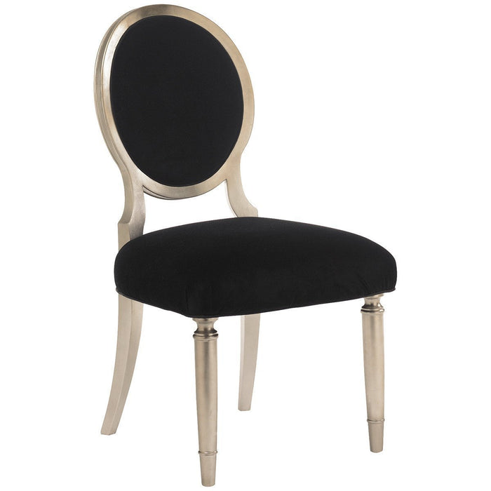 Caracole Chit-Chat Side Upholstered Dining Chairs Set of 2