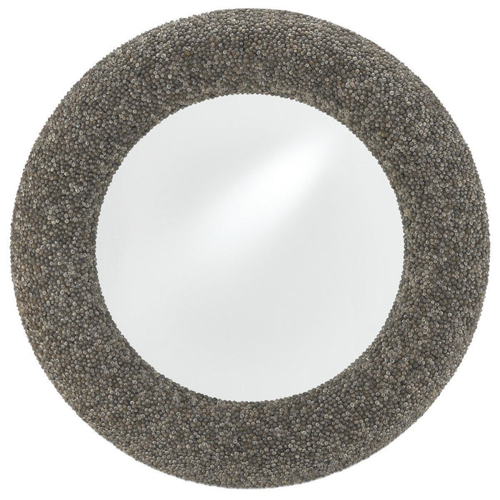 Currey and Company Batad Shell Mirror - Round