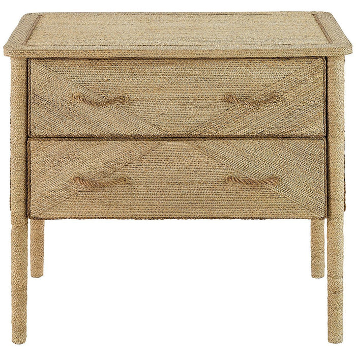 Currey and Company Kaipo Two Drawer Chest
