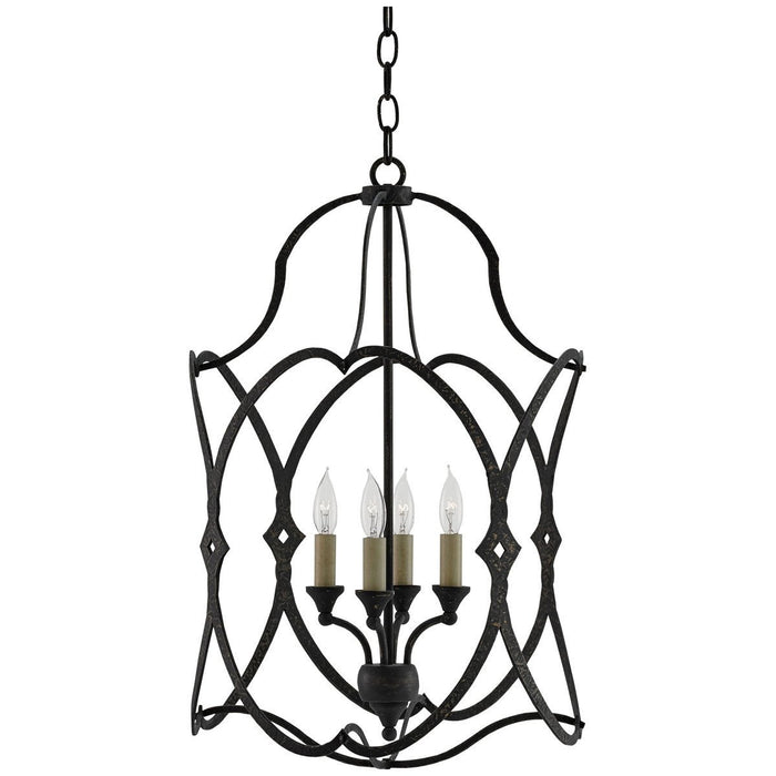 Currey and Company Charisma Lantern Chandelier
