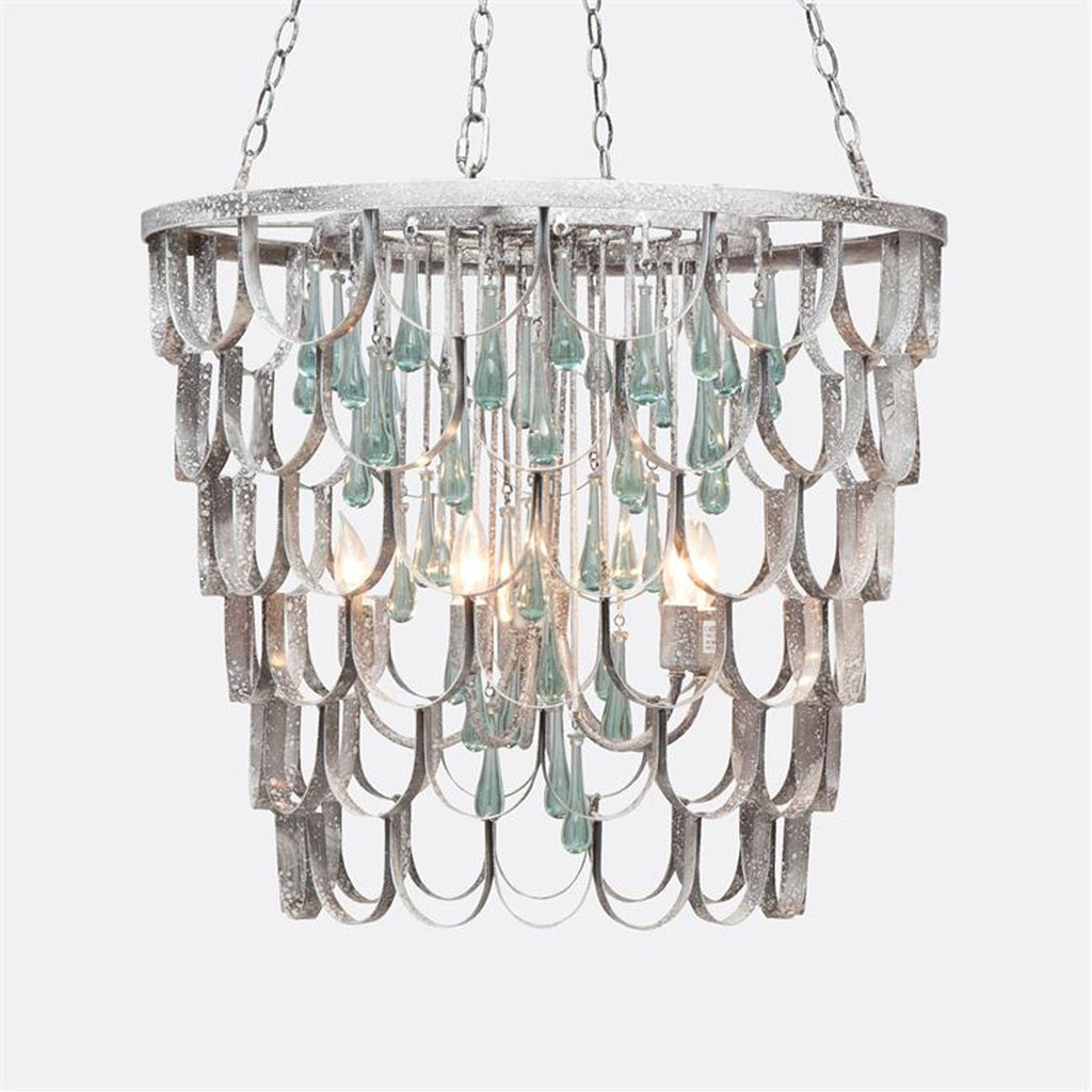 Made Goods Henson Fish Scale Chandelier