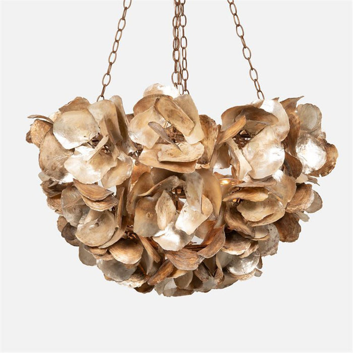 Made Goods Venus Oyster Shell Chandelier