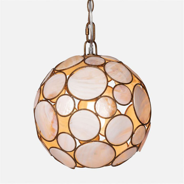 Made Goods Zoey Kabibe Round Chandelier