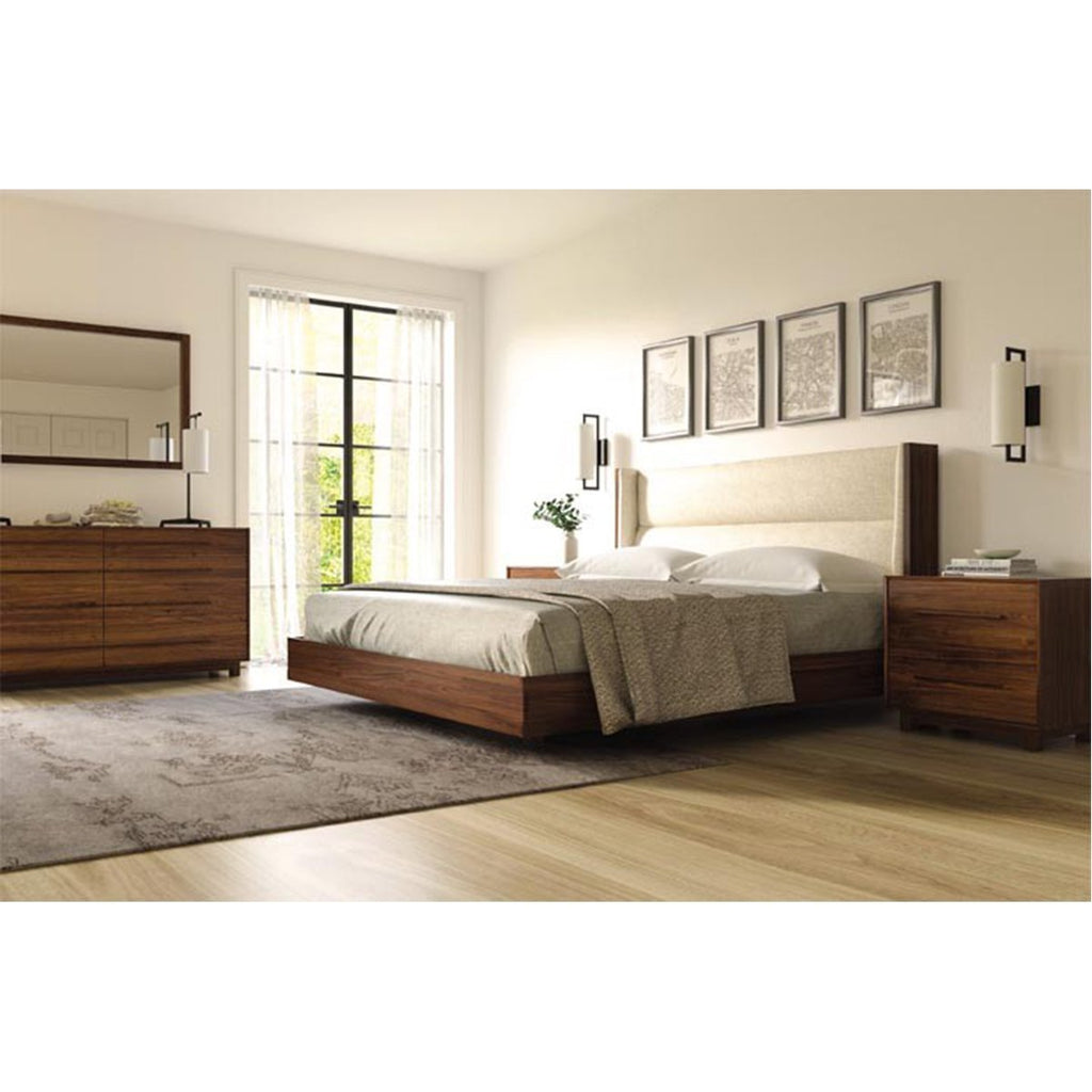 Copeland Furniture Sloane Bed with Legs for Mattress and Box Spring
