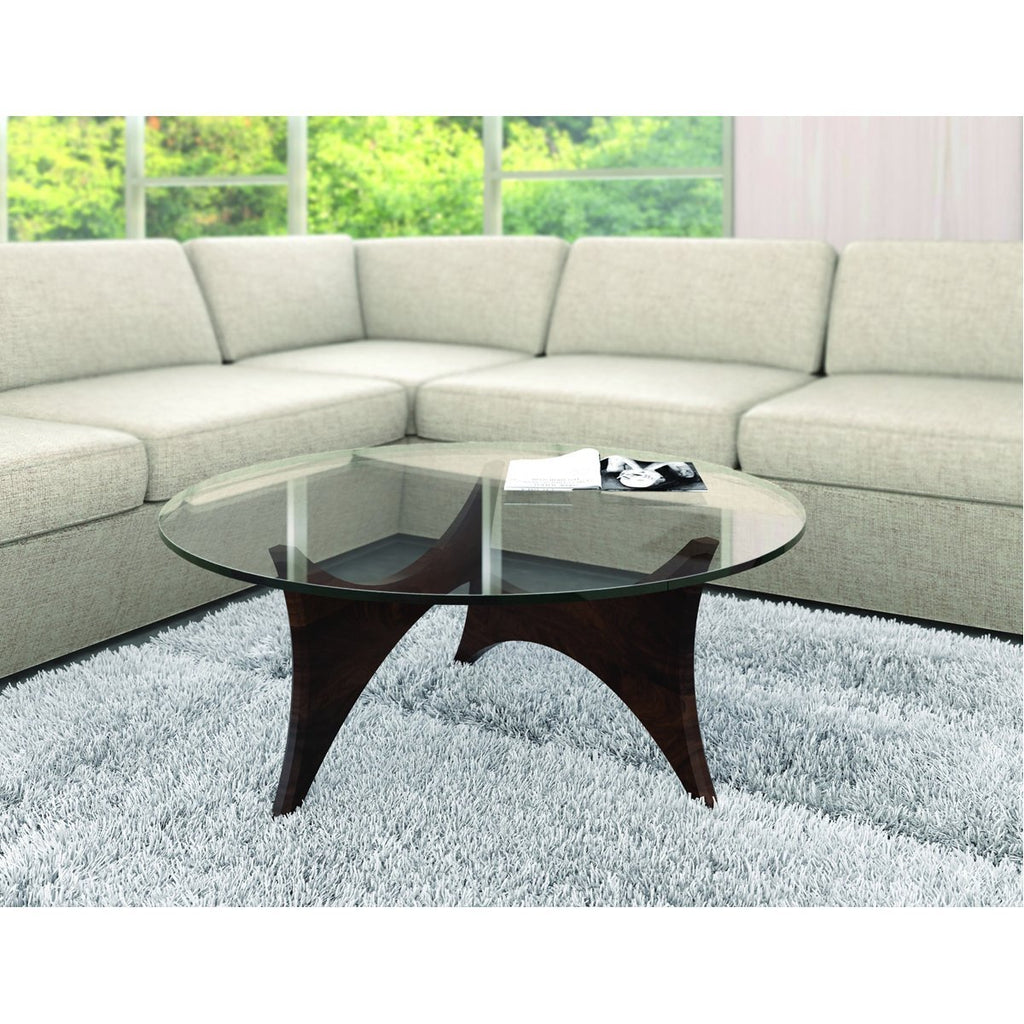 Copeland Furniture Statements Pivot Round Coffee Table