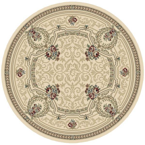 Dynamic Rugs Ancient Garden 57091-6464 Ivory Rug