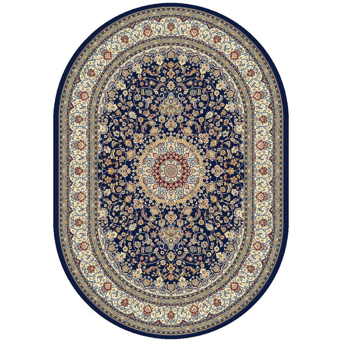 "Dynamic Rugs Ancient Garden 57119 Rug - 6'7"" x 9'6"" Oval"