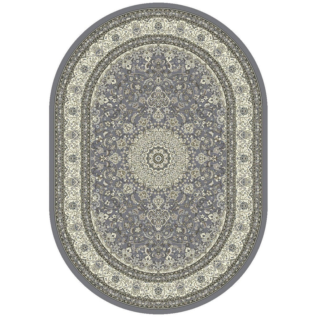 "Dynamic Rugs Ancient Garden 57119 Rug - 5'3"" x 7'7"" Oval"
