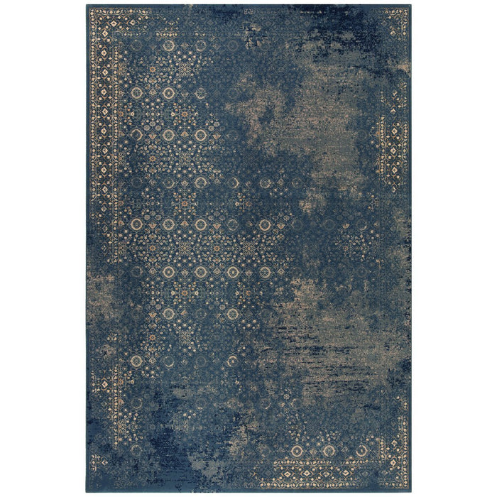 Dynamic Rugs Brilliant 72403-900 Blue Rug