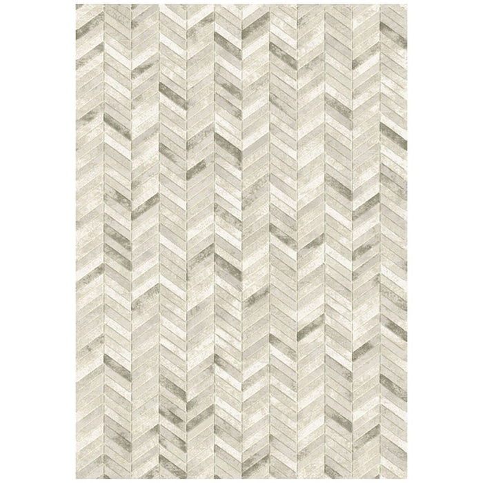 Dynamic Rugs Eclipse 63226-4343 Silver Rug