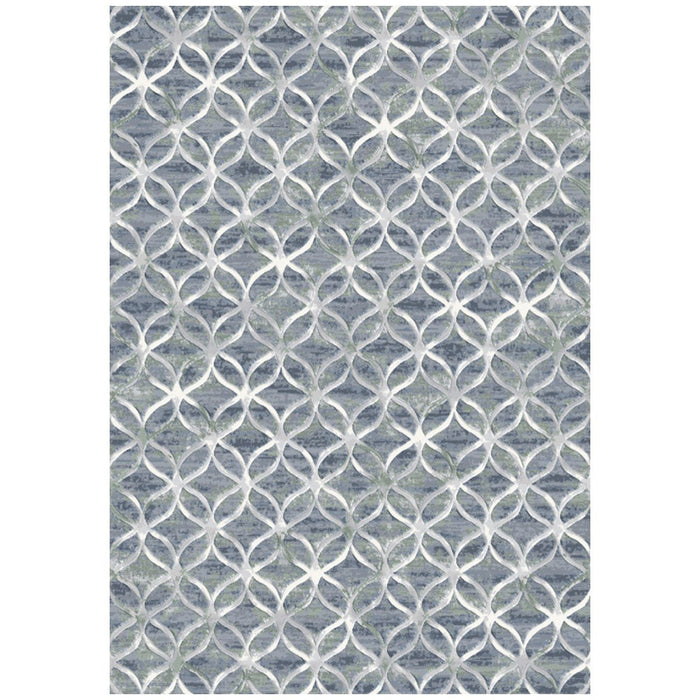 Dynamic Rugs Eclipse 63396-5666 Blue Rug