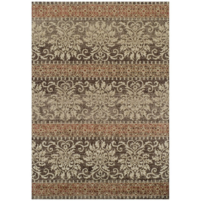 Dalyn Gala GA6 Power Woven Chocolate Rug