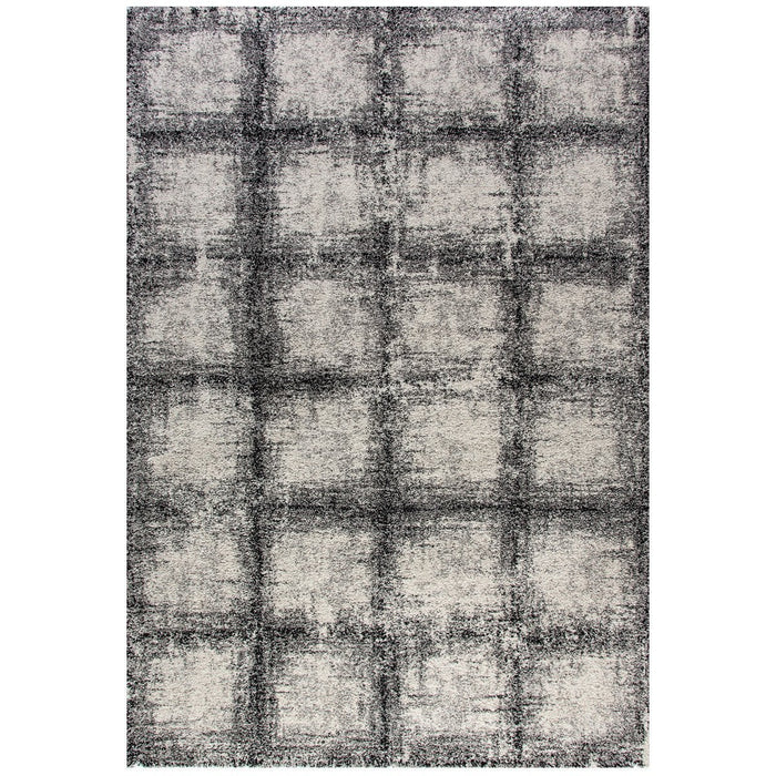 Dynamic Rugs Mehari 23095-6248 Black-White Rug