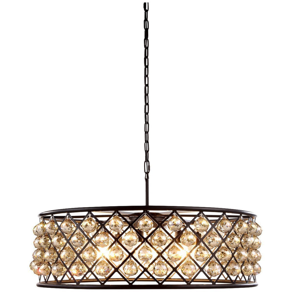 Elegant Lighting 8 Lights Madison Pendant