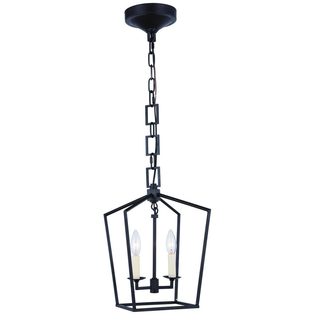 Elegant Lighting Denmark Collection 2 Lights Pendant