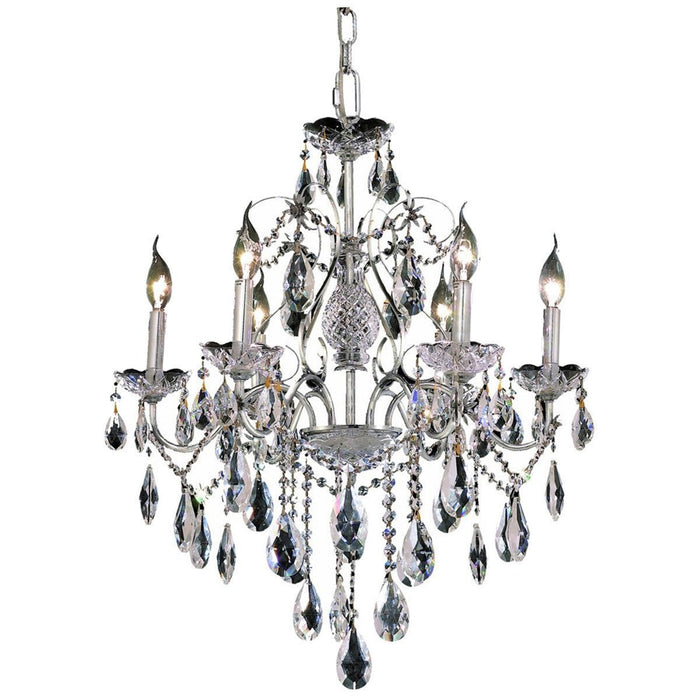 Elegant Lighting St. Francis 21-Inch High 6 Lights Chandelier