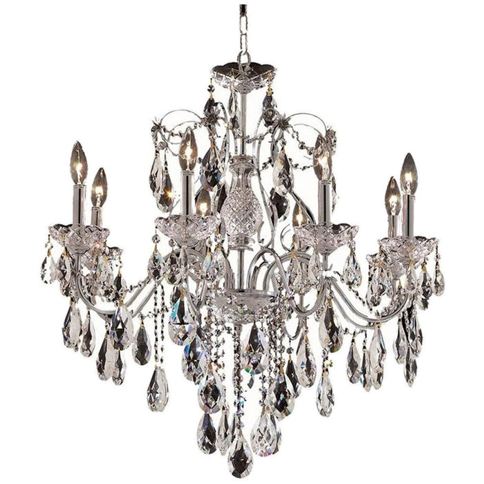 Elegant Lighting St. Francis 23-Inch High 8 Lights Chandelier