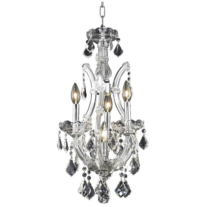 Elegant Lighting 2800 Maria Theresa 4 Lights Pendant