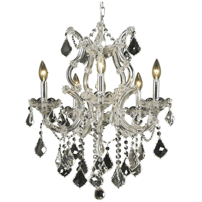 Elegant Lighting 2800 Maria Theresa 6 Lights Chandelier