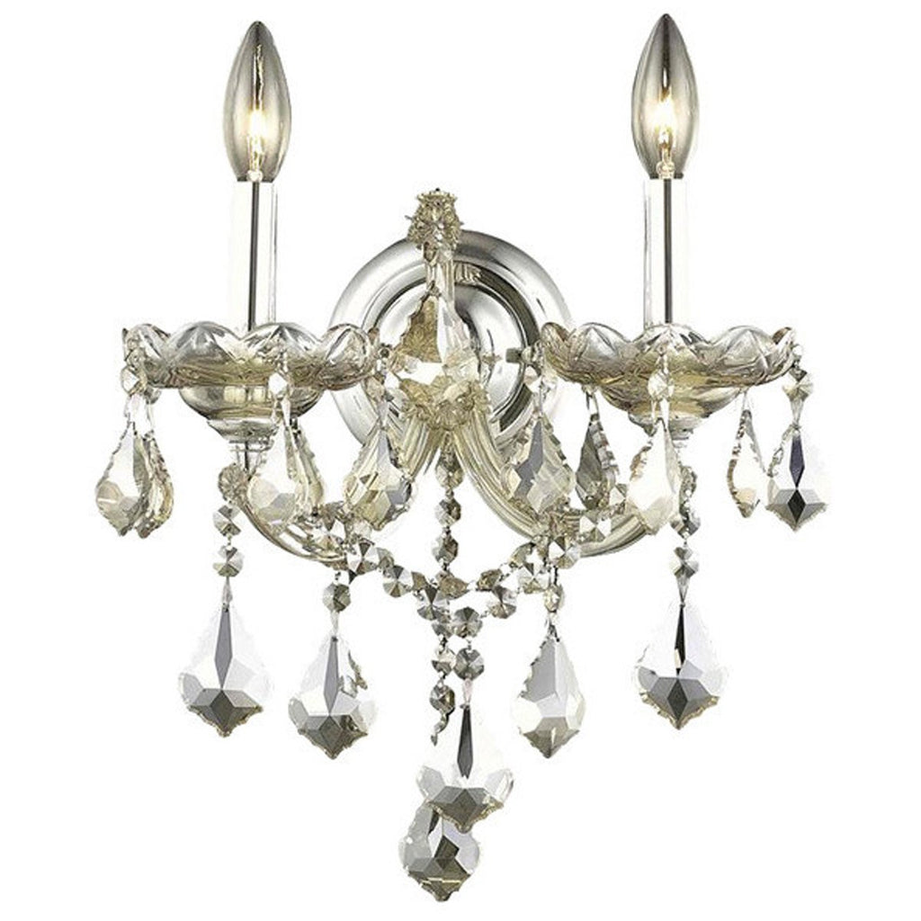Elegant Lighting 2800 Maria Theresa 2 Lights Sconce
