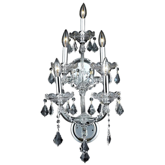 Elegant Lighting 2800 Maria Theresa 5 Lights Sconce