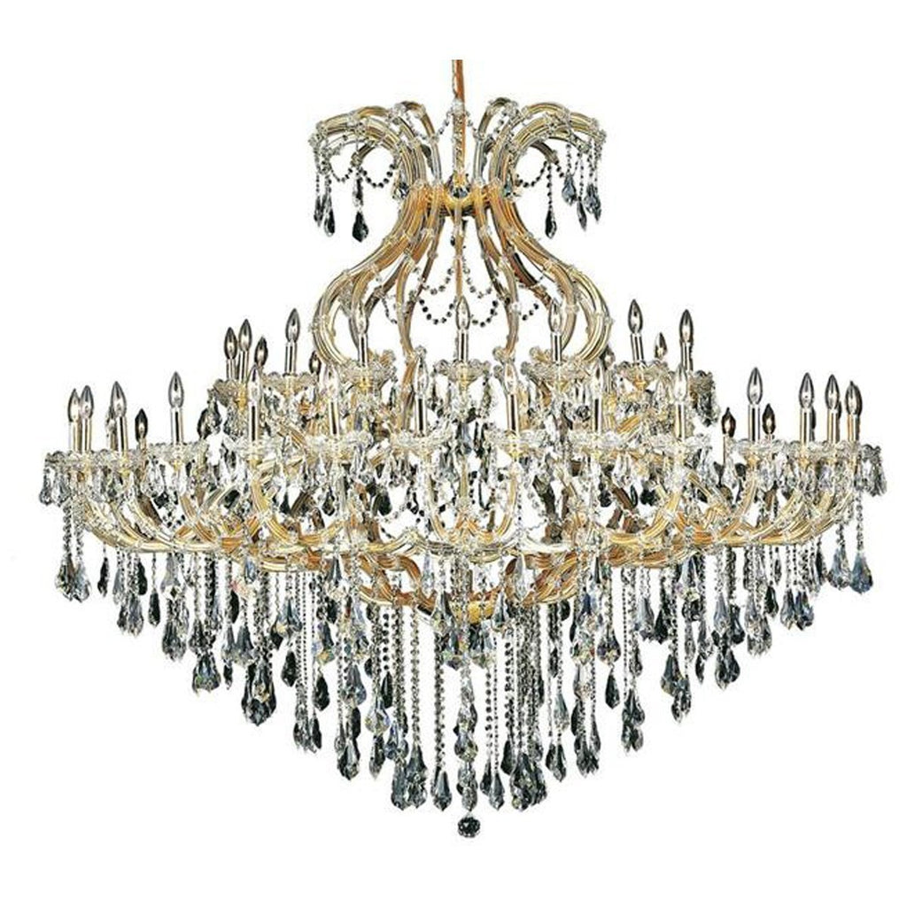 Elegant Lighting 2801 Maria Theresa 49 Lights 72-Inch Chandelier