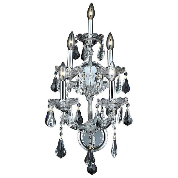 Elegant Lighting 2801 Maria Theresa 5 Lights Sconce