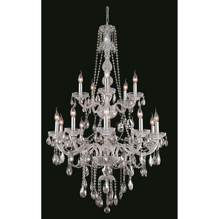 Elegant Lighting 7915 Verona 15 Lights Chandelier