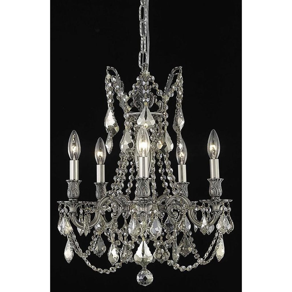 Elegant Lighting Rosalia 5 Lights Chandelier