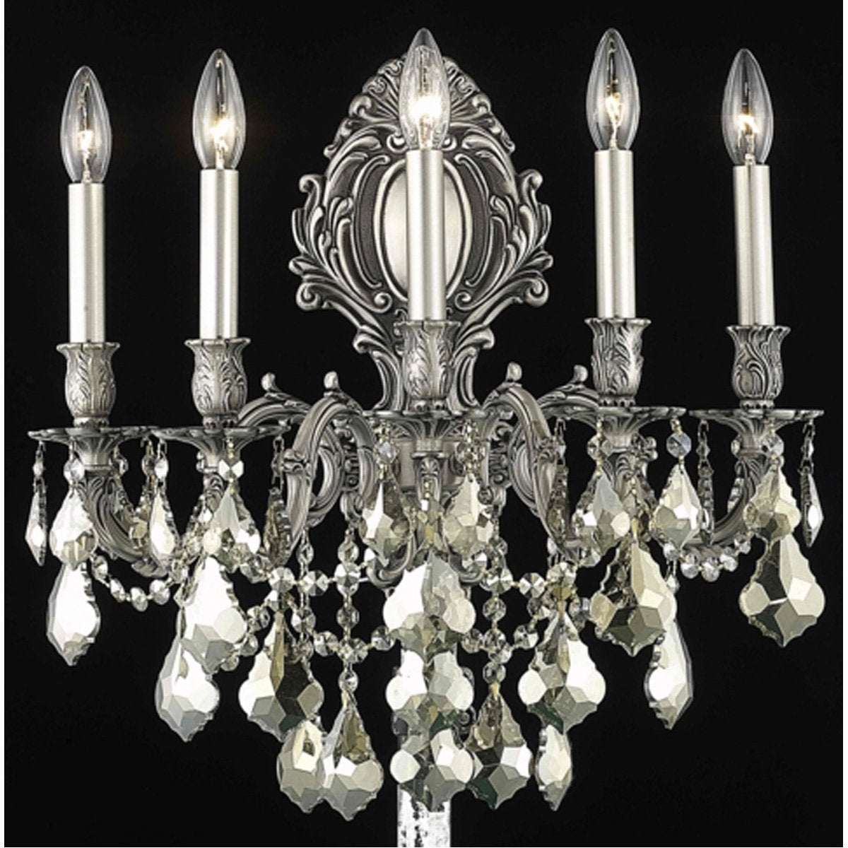 Elegant Lighting Monarch 5 Lights Wall Sconce