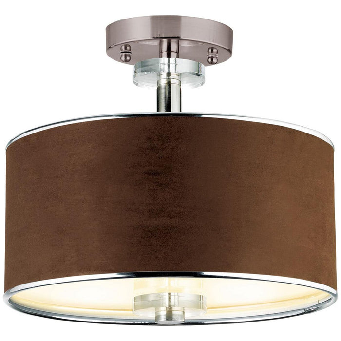 Eurofase Savvy 3-Light Semi-Flushmount