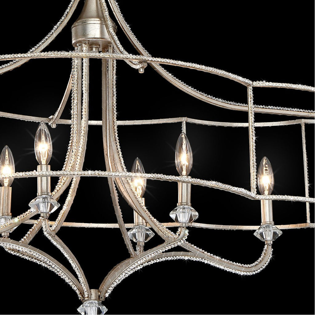 Eurofase DESIGNWL2017 Palmisano 6-Light Oval Chandelier