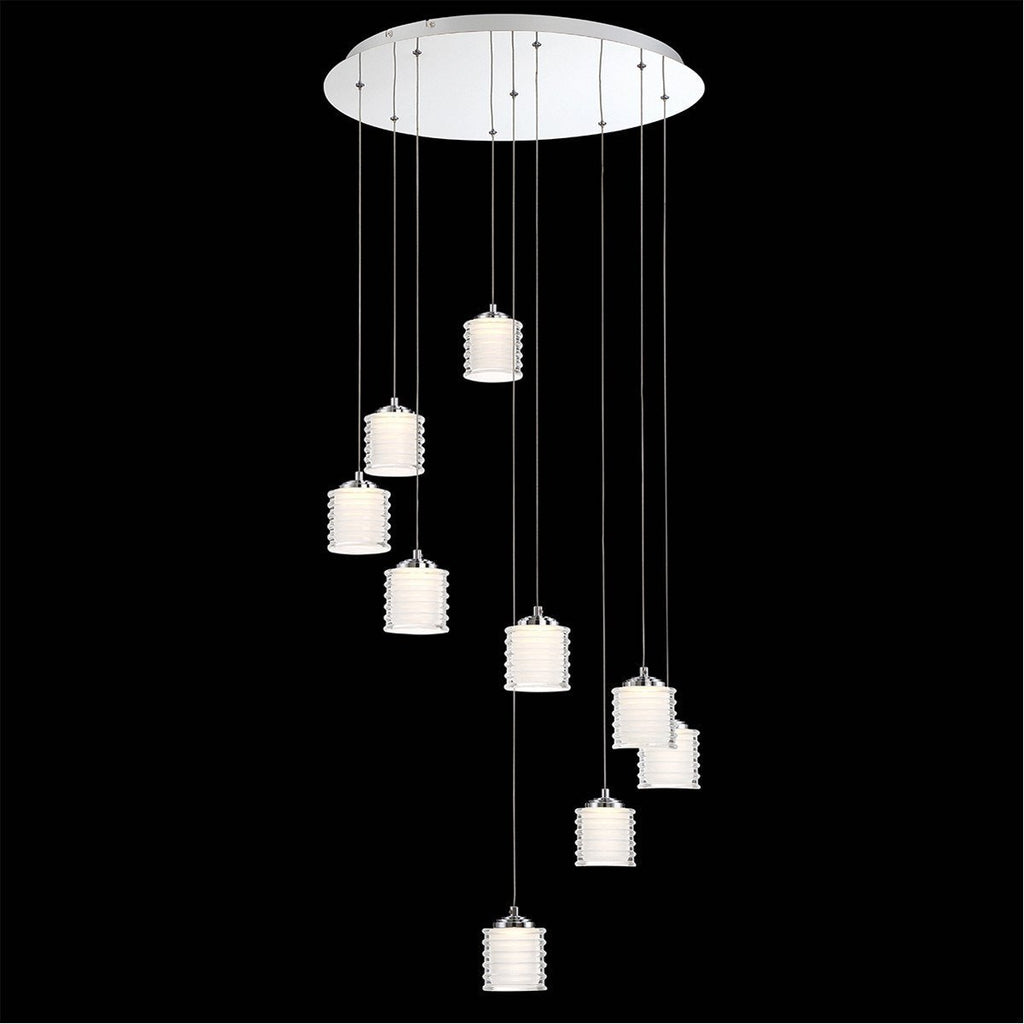 Eurofase DESIGNWL2017 Ancona 9-Light Led Chandelier