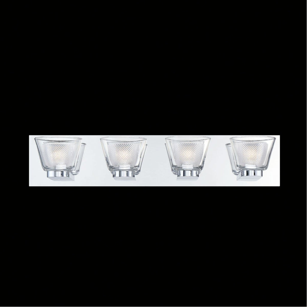 Eurofase DESIGNWL2017 Trent 4-Light Led Bathbar Sconce