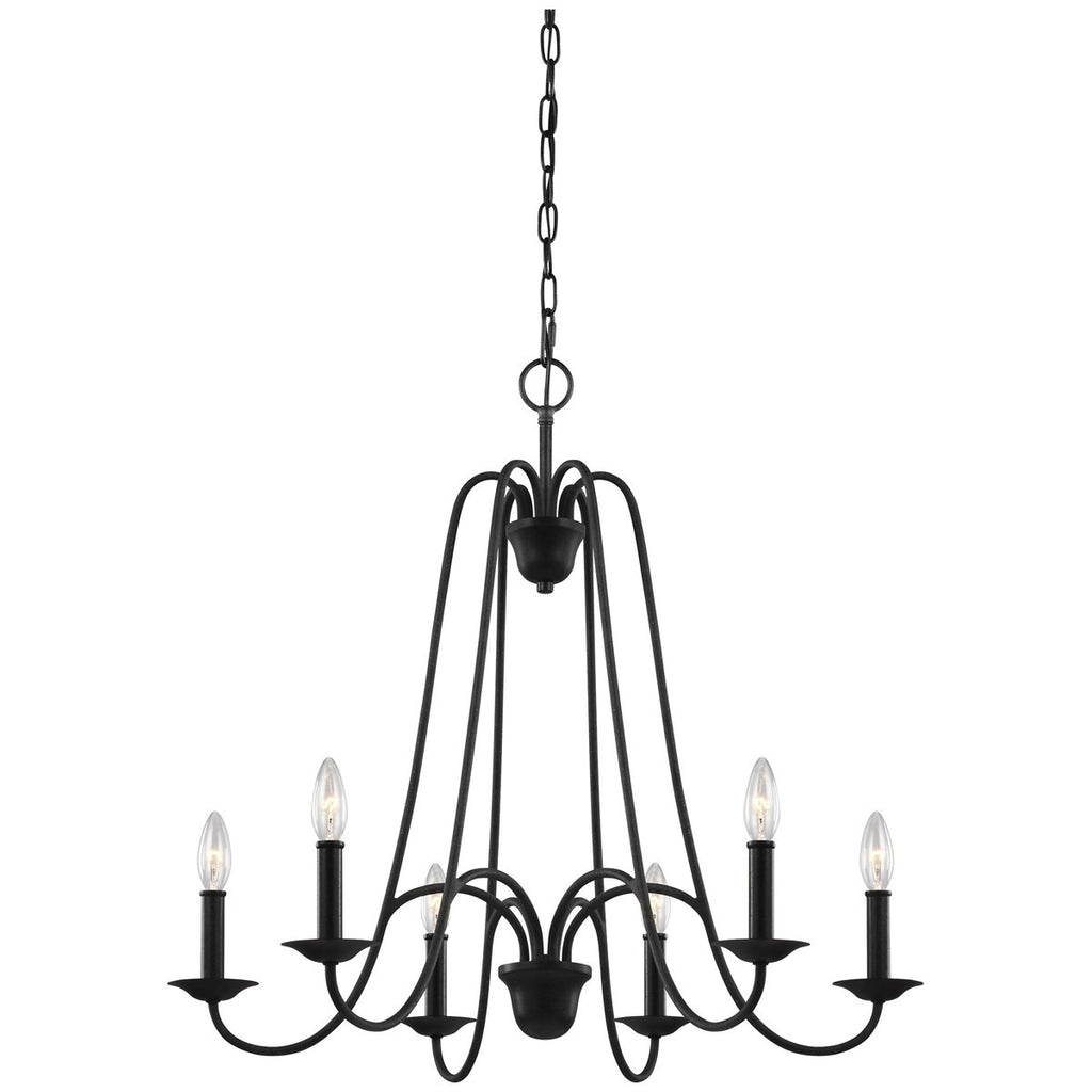 Sea Gull Lighting Boughton 6-Light Chandelier