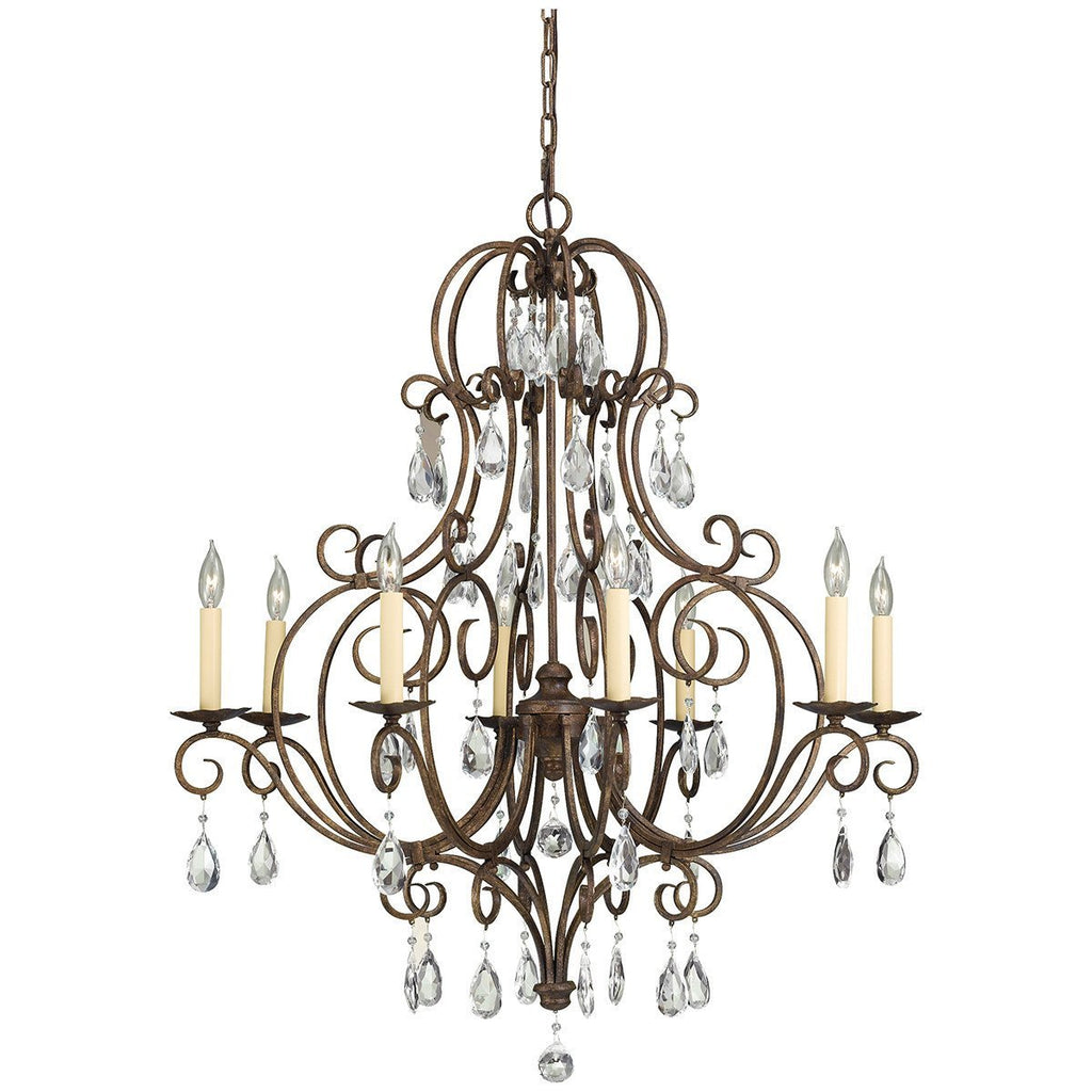 Feiss Chateau 8 Lights Chandelier