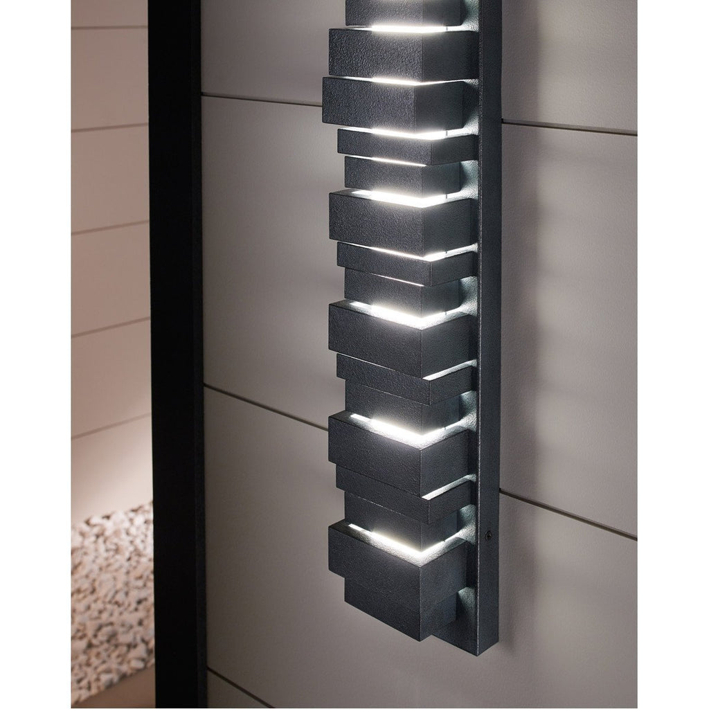"Feiss Ledgend 18"" LED Outdoor Sconce"